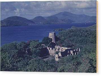 Annaberg Ruins And Sugar Mill Wood Print by Don Kreuter