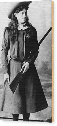 Annie Oakley, Aka Phoebe Anne Oakley Wood Print by Everett