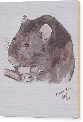 Annie's Tale Wood Print