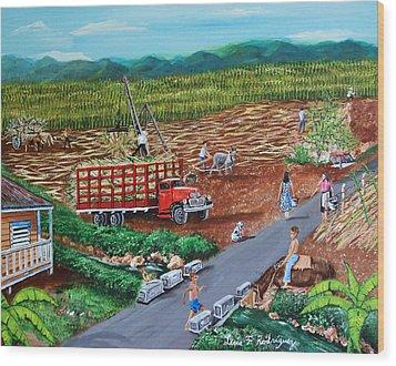 Anoranzas Wood Print by Luis F Rodriguez