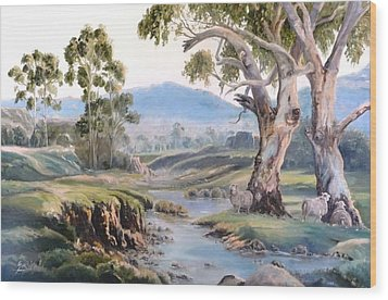 Another Australia Day Wood Print by Diko