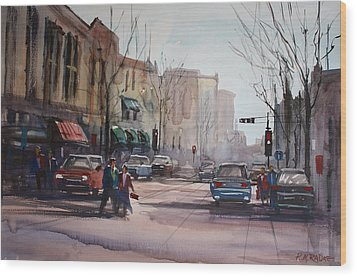 Another Day In Fond Du Lac Wood Print by Ryan Radke