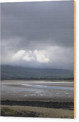 Another View From Strandhill Beach Ireland Wood Print by Amy Williams