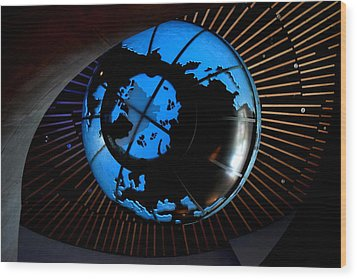 Antarctica Wood Print by David Gilbert
