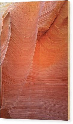 Antelope Canyon - A Dazzling Phenomenon Wood Print by Christine Till