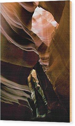 Antelope Canyon 188 Wood Print by Hans Mauli