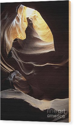 Antelope Canyon 2 Wood Print by Stan and Anne Foster