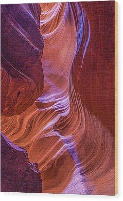 Antelope Canyon Beauty Wood Print