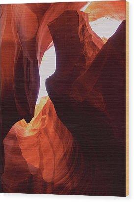 Antelope Slot Canyon  Wood Print by Martina Fagan