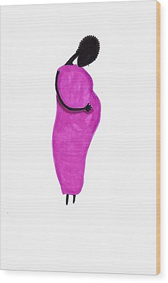 Anticipation Wood Print by Bee Jay