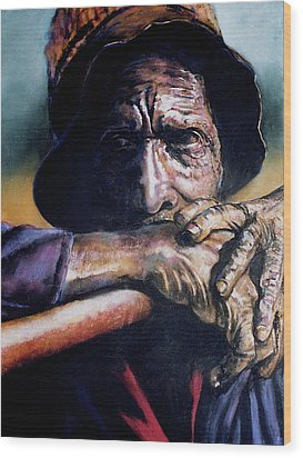 Anticipation Wood Print by Curtis James