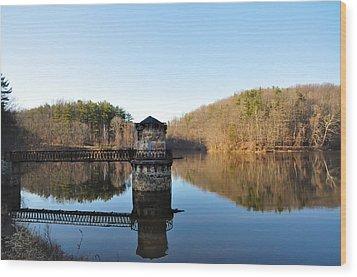 Antietam Creek Wood Print by Bill Cannon