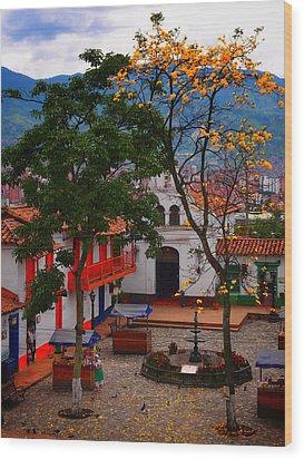 Antioquia Wood Print