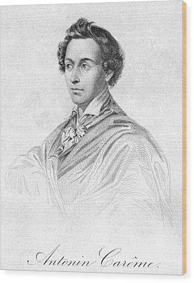 Antonin Car�me (1783-1833) Wood Print by Granger