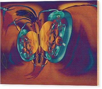 Antsy Series - Genesis Wood Print