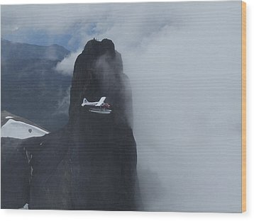 Wood Print featuring the photograph Aop At Black Tusk by Mark Alan Perry