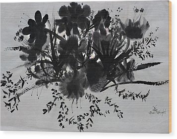 Aplomb Wood Print by Don  Wright