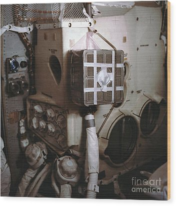 Apollo 13s Mailbox Wood Print by Nasa
