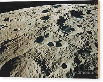 Apollo 15: Moon, 1971 Wood Print by Granger