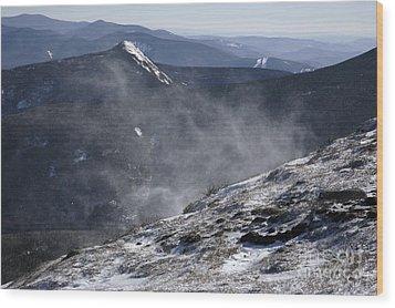 Appalachian Trail - Franconia Ridge-white Mountains New Hampshire Wood Print by Erin Paul Donovan