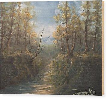Appalachian View  Wood Print