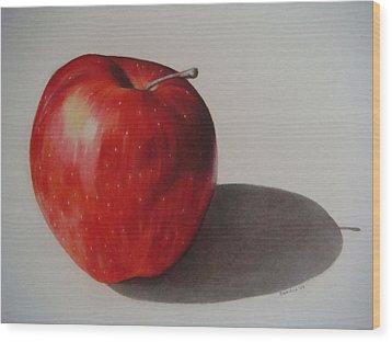 Appealing Wood Print by Daniela Rioux