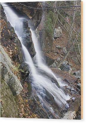 Wood Print featuring the photograph Apple Orchard Falls by Alan Raasch