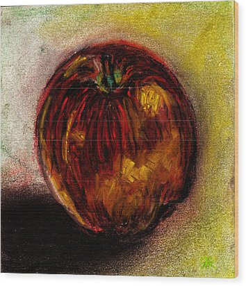 Apple  Wood Print by Rashmi Rao