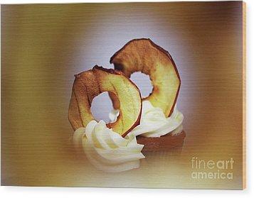 Apple View Wood Print by Afrodita Ellerman