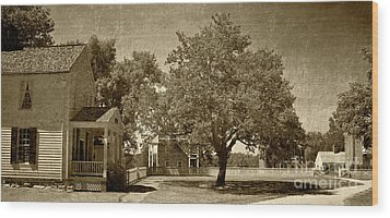 Wood Print featuring the photograph Appomattox by Pete Hellmann