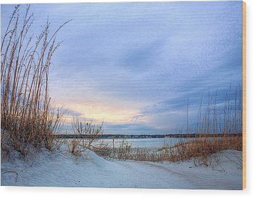 Approaching Storm Wood Print by JC Findley