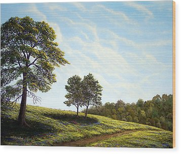 April Afternoon Wood Print by Frank Wilson