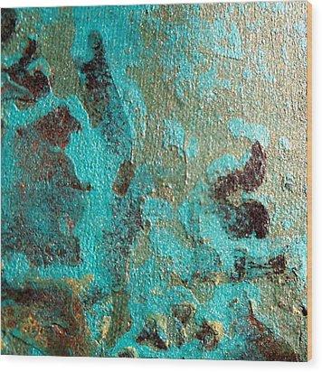 Aquafina Wood Print