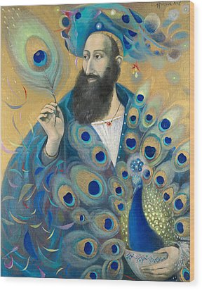 Aquarius Wood Print by Annael Anelia Pavlova