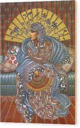 Arabella Wood Print by Jane Whiting Chrzanoska