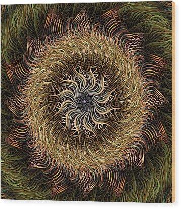 Arabesque Wood Print