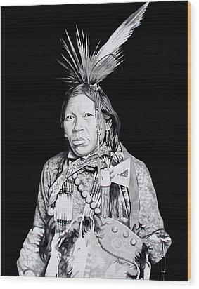 Arapahoe Wood Print by Ferrel Cordle