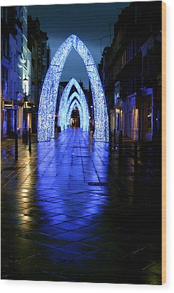 Arch To Freedom Wood Print by Jez C Self
