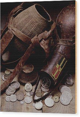 Archeological Find Year 3009 Wood Print by Steven Huszar