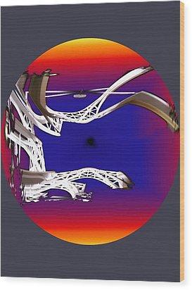 Arches 2 Wood Print by Tim Allen