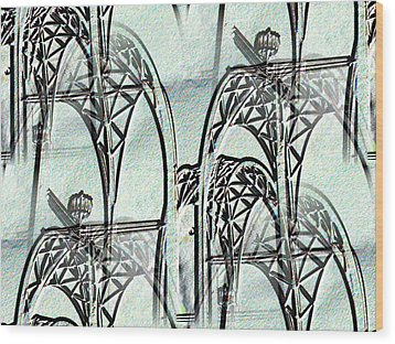 Arches 4 Wood Print by Tim Allen