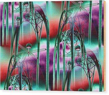 Arches Wood Print by Tim Allen