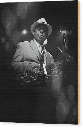 Archie Shepp,attica Blues Wood Print