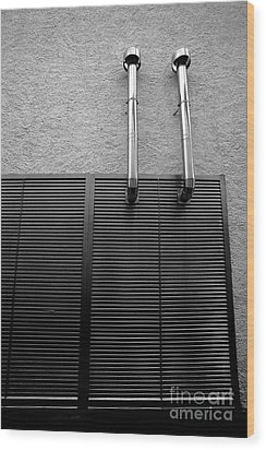 Architectural Elements Wood Print by Gaspar Avila