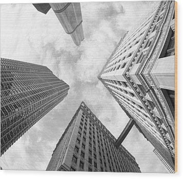 Architectural Perspective Wood Print