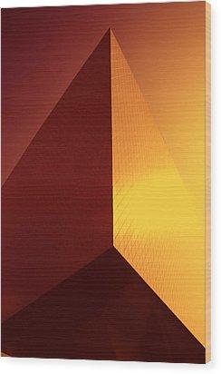 Architecture 3000 Wood Print by Falko Follert