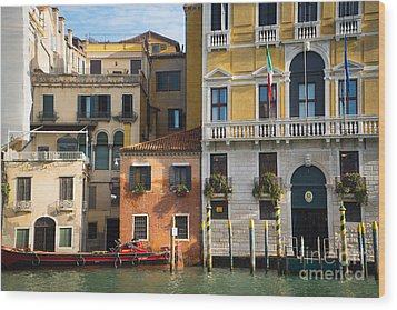 Architecture Of Venice - Italy Wood Print