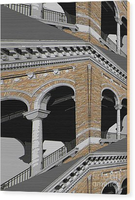 Archways Wood Print