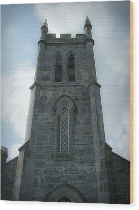 Ardcroney Church County Clare Ireland Wood Print by Teresa Mucha