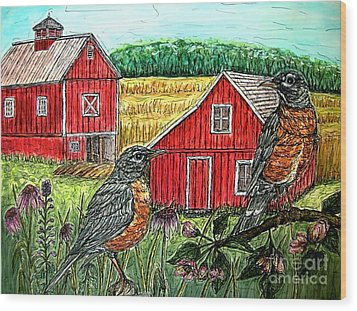 Are You Sure This Is The Way To St.paul? Wood Print by Kim Jones